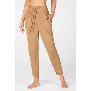 "Fabletics Blaine Jogger Pants in ""Barista"" Size L"